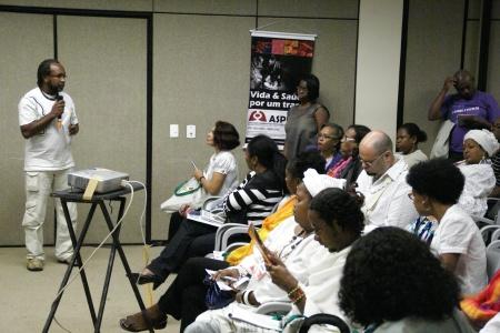 Lira durante intervenção no painel de Saúde da CONAPIR