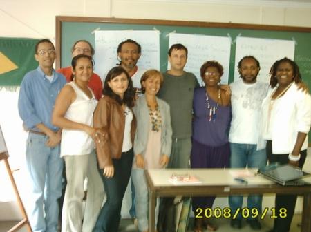 Grupo atingiu objetivo da primeira reunião (Foto: Sheila)